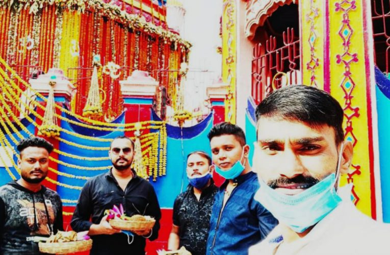 महाअष्टमी पर छिन्नमस्तिका मंदिर में उमड़ी भक्तों की भीड़, सुरक्षा के कड़े इंतजाम..