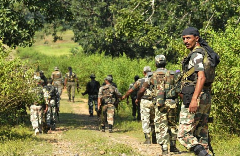 Encounter Breaks Out Between Security Forces & Naxals in West Singhbhum