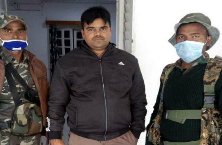 पलामू में 15 हजार रुपए घूस लेते SI गिरफ्तार..