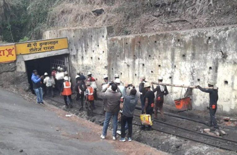 धनबाद : निरसा स्थित ईसीएल के खुदिया कोलियरी में  पानी भरने के बाद दो मज़दूर लापता..
