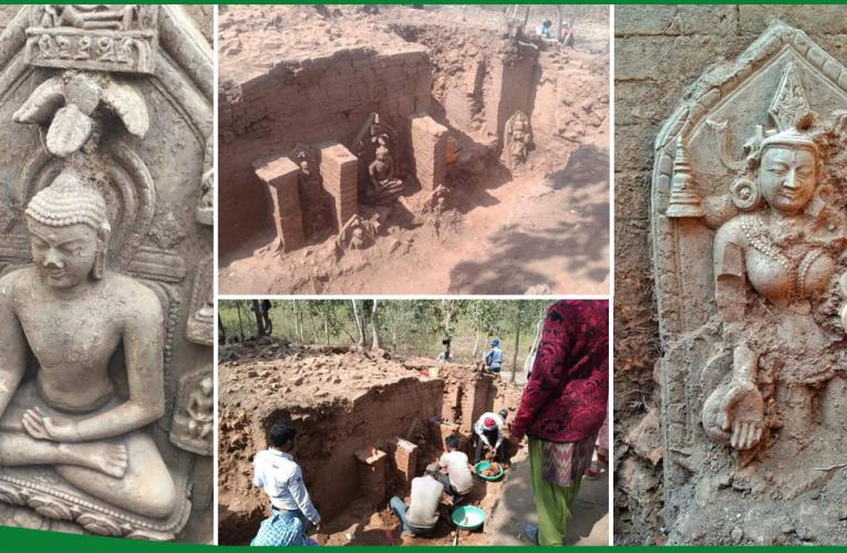 हजारीबाग: पुरातत्व विभाग की खुदाई में मिली भगवान बुद्ध की प्रतिमाएं..