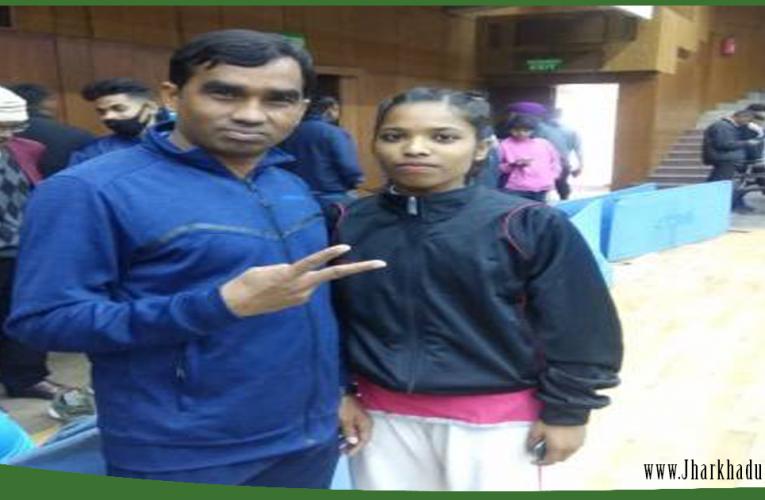 राष्ट्रीय वुशु प्रतियोगिता में झारखंड के बेटियों ने बढ़ाया मान..