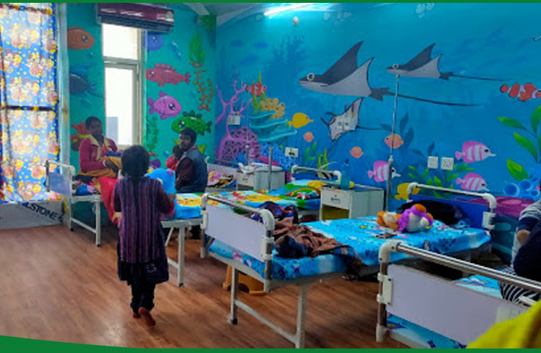 Day care centre at Ranchi is a boon for thalassemic children..