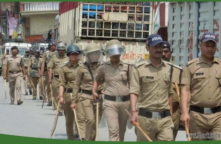 इलेक्शन ड्यूटी पर तैनात झारखंड के पुलिस जवानों को यात्रा के लिए मिला आरक्षित बर्थ..