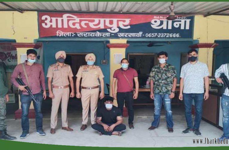 पंजाब का मोस्ट वांटेड अपराधी गेवी सिंह उर्फ विजय झारखंड से गिरफ्तार..