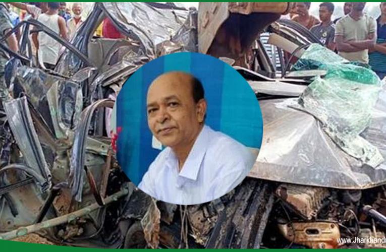 गुमला : कामडारा सीएचसी के चिकित्सा प्रभारी की सड़क हादसे में मौत..