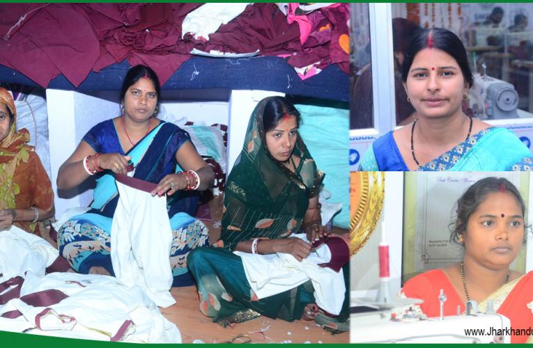 Godda women emancipates penury with the help of self-help group.
