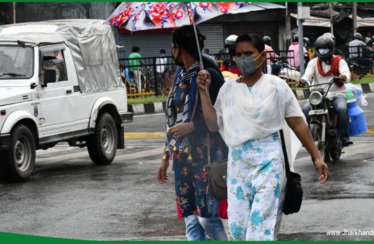 झारखंड में बारिश के बाद लोगों को गर्मी से मिली राहत, तापमान में आई गिरावट..