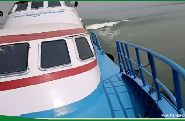 न्यू फ्रंटियर 3 यात्री जहाज के परिचालन से आसान हुआ गंगा में जहाज का सफर..