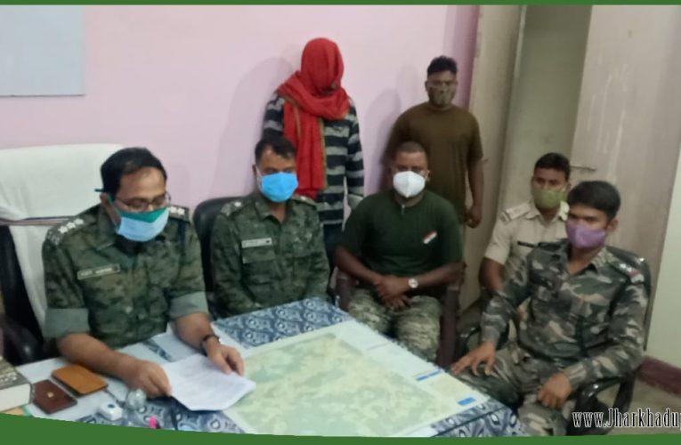 लातेहारः टीपीसी का एक लाख इनामी नक्सली गिरफ्तार, बालूमाथ पुलिस ने की कार्रवाई..