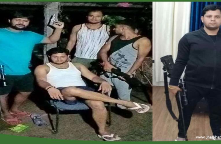 झारखंड के वांटेड सुधीर दुबे को पंजाब और झारखंड पुलिस की संयुक्त टीम ने किया गिरफ्तार..