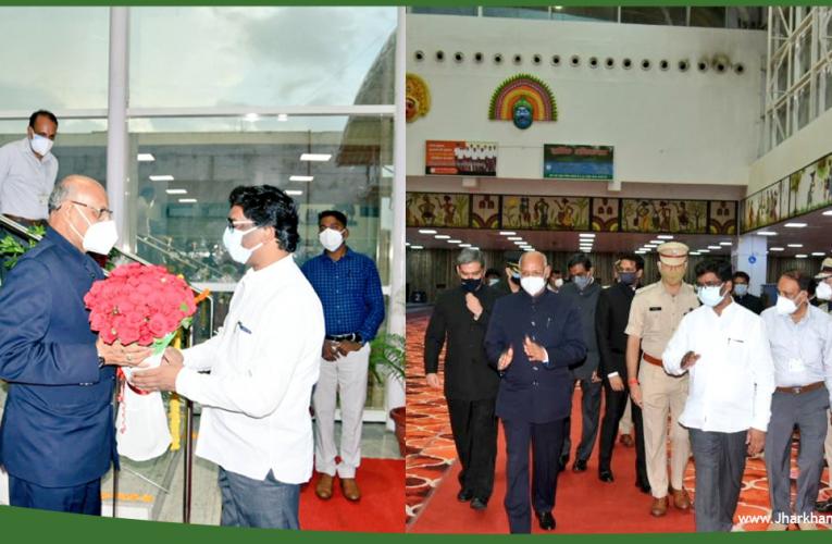 झारखंड के नवनियुक्त राज्यपाल रमेश बैस रांची पहुंचे, 14 जुलाई को लेंगे राज्यपाल के रूप में शपथ..