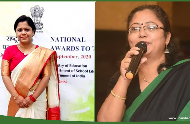 Two Jharkhand teachers selected for National Awards.Two Jharkhand teachers selected for National Awards.