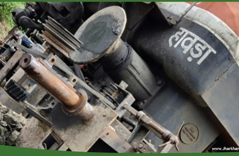 रांची-हावड़ा शताब्दी ट्रेन सोमवार को दुर्घटनाग्रस्त होने से बची..