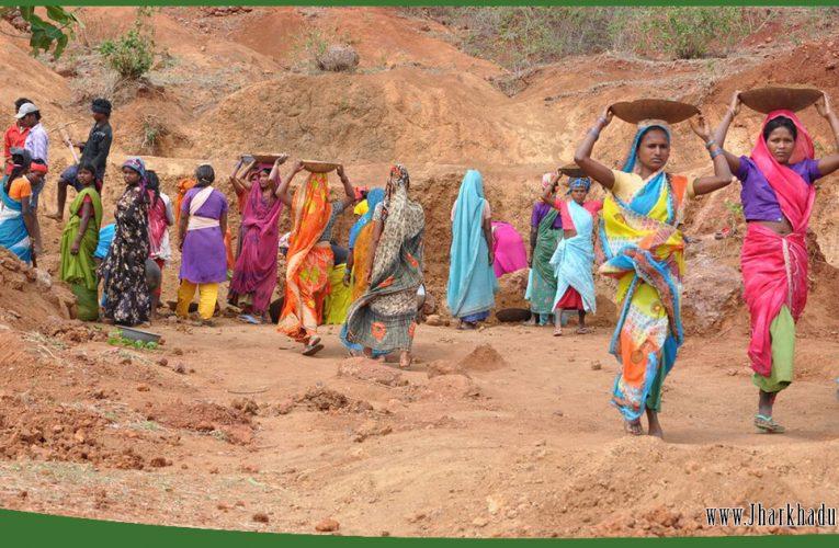 मनरेगा से बढ़े ग्रामीण क्षेत्रों में रोजगार के अवसर..