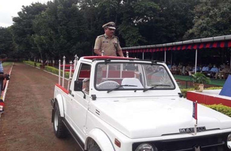 झारखंड के डीजी एमवी राव सेवानिवृत्त, जैप वन ग्राउंड में दी गई विदाई..