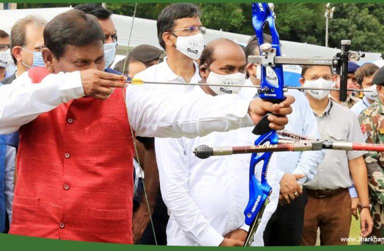 जमशेदपुर में 40 वीं एनटीपीसी सीनियर नेशनल आर्चरी चैंपियनशिप का उद्घाटन..