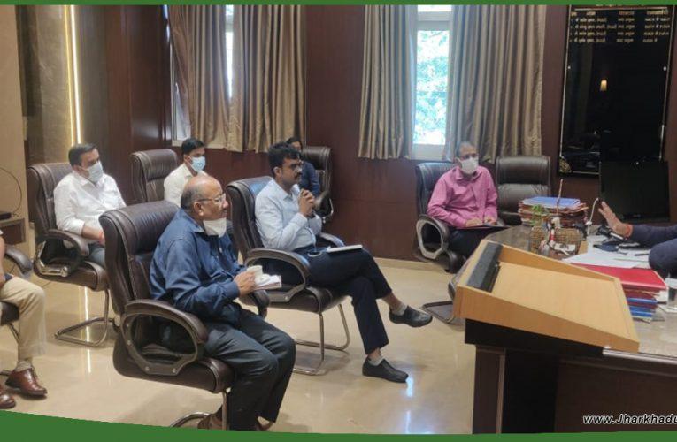 नगर आयुक्त ने की नेशनल ग्रीन ट्रिब्यूनल द्वारा गठित उप समिति के अधिकारियों के साथ बैठक..